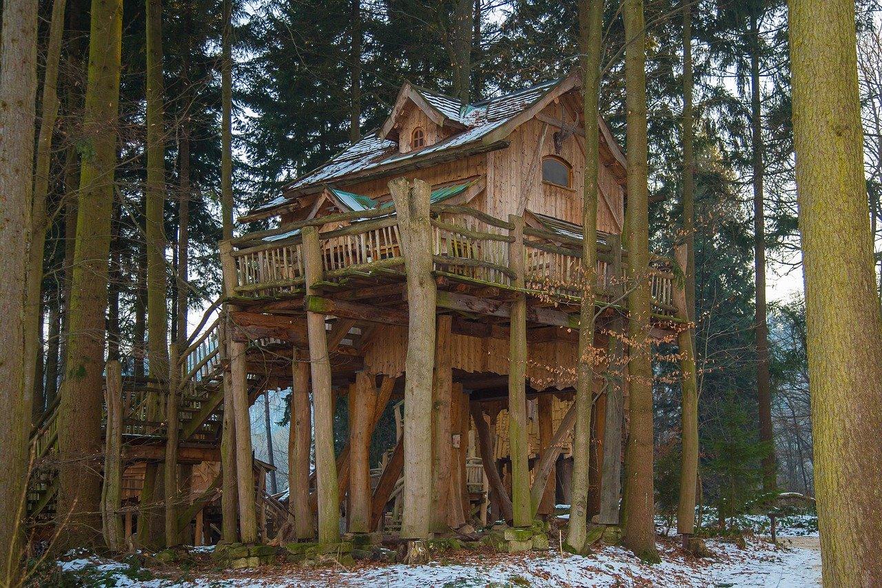 Baumhaus selber bauen Bauanleitung