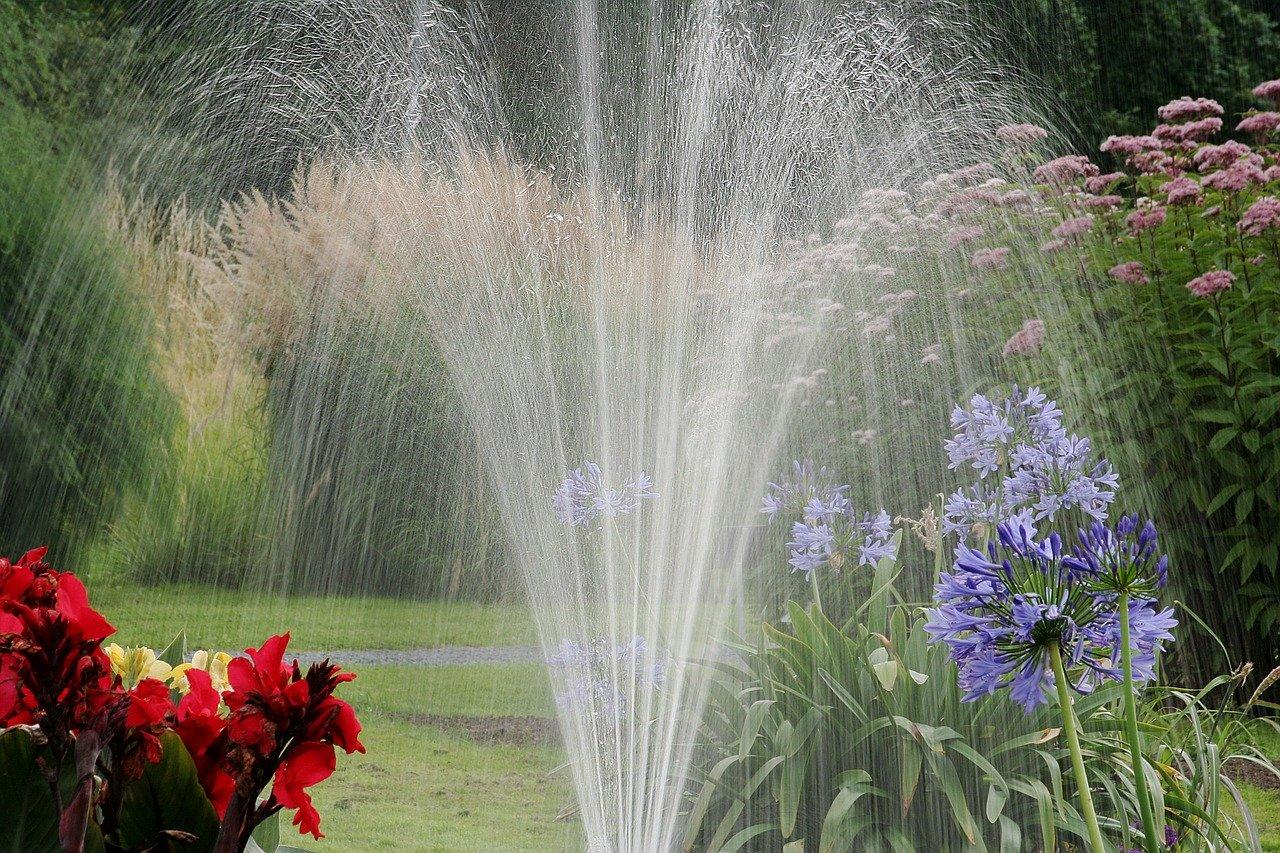 Gartenpumpe zur Bewässerung